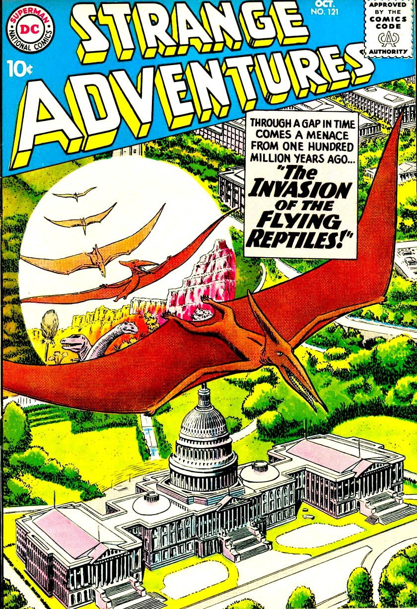 DC Comic Book Cover by Artist Murphy Anderson