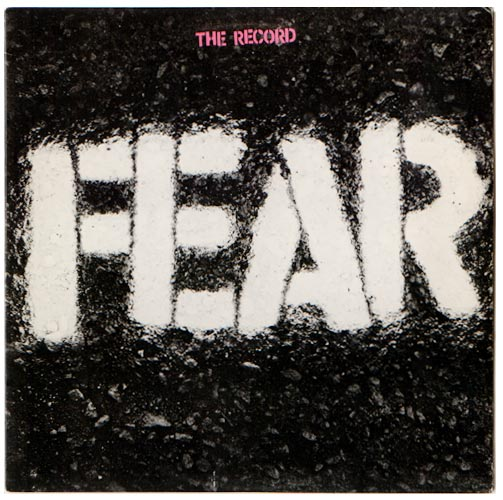 FEAR LP / Punk