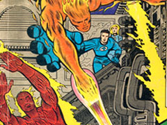 Jack Kirby : Fantastic Four cover