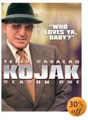 Kojak TV show on DVD