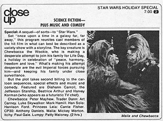 Star Wars TV Christmas Special