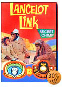 TV show Lancelot Link Secret Chimp DVDs