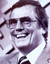 Peter Marshall, host of Hollywood Squares in the 1970s