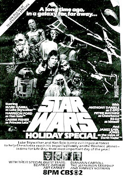 Star Wars Christmas Special ad