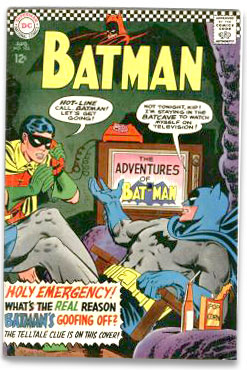 Batman comic book
