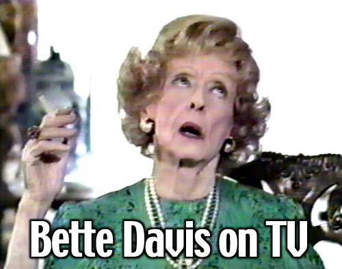 Bette Davis on TV