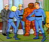 Fantastic Four cartoons