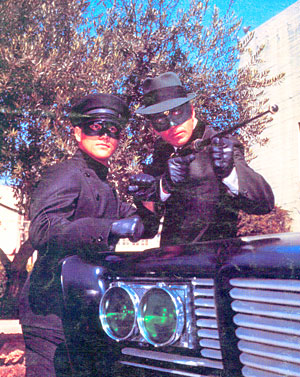 Green Hornet TV Show cast