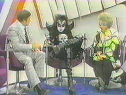 KISS on TV