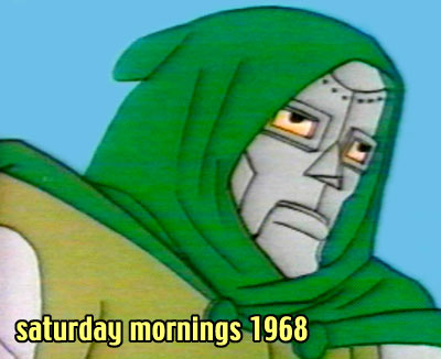 Saturday morning cartoons