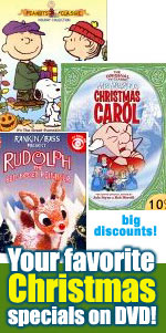 TV Christmas Specials on DVD