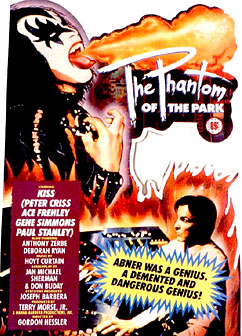 Kiss meets the phantom poster