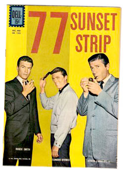77 Sunset Strip comic book