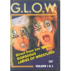 GLOW - TV wrestling DVDs