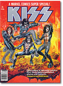 Kiss comic book