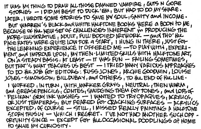 12 - Alex Toth letters