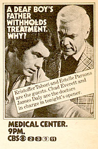 Medical Center advertisement