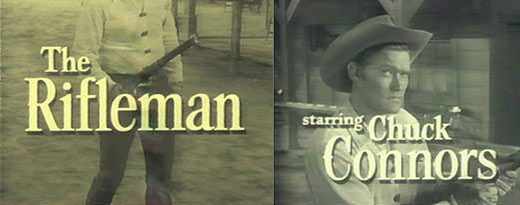 The Rifleman starring Chuck Connors