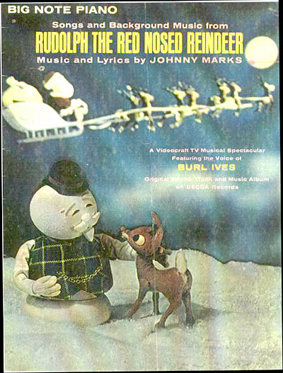 Rudolph the red nosed reindeer 45 rpm record