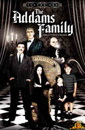 The Addam's Family on DVD