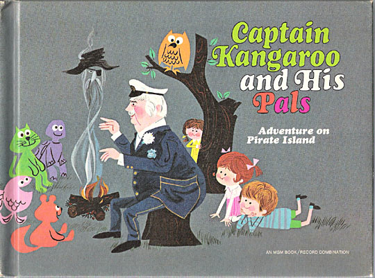 Captain Kangaroo book