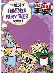 classic tv cartoons - Fractured Fairy Tales on DVD
