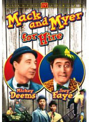 Mack & Myer for Hire on DVD