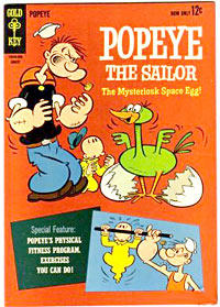 Popeye comic book