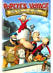 Popeye TV show on DVD