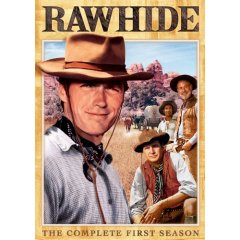 Rawhide TV show  on DVD