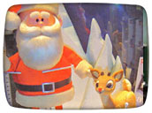Christmas Specials: Rudolph and Santa from the TV Christmas special