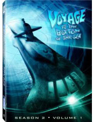 Voyage to the bottom of the sea on DVDs