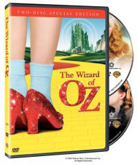 Wizard of Oz on DVD