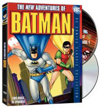 TV Batman on DVD