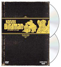 Harvey Birdman, Attorney at Law dvd