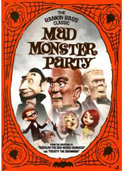 Mad Monster Party on DVD