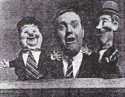 Chuck McCann and puppets