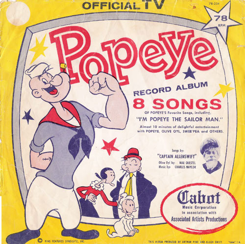 popeye records