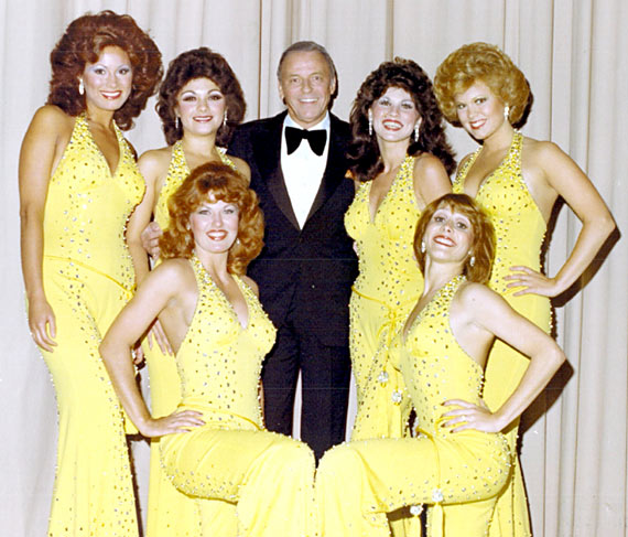 The Golddiggers with Frank Sinatra