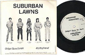 Suburnan lawns + new wave / punk rock