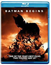 Batman Begins Blue Ray DVD