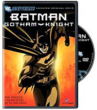 Batman Ghotham Knight on DVD
