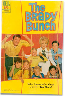 Brady Bunch comic