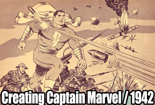 Captain Marvel comics -1942