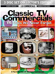 Classic TV Commercials on DVD