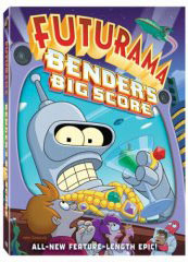 Futurama: Bender's Big Score on DVD