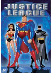 Batman in Justice League on DVD