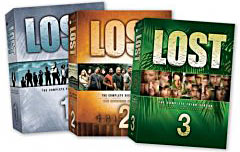 Lost seasons 1-3 on DVD