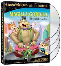 Magilla Gorilla on DVD