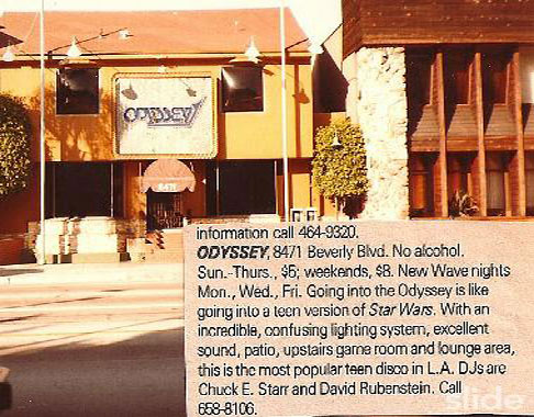 The Odyssey 1 night club in LA